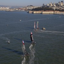Best spots to take photographs of the America's cup world series (ACWS) in San Francisco