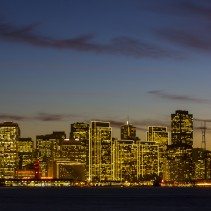 San Francisco Photo Spot series: Treasure Island and the Blue Hour