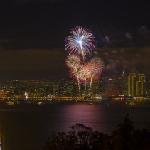 San Francisco Photo Spot series: New Year fireworks from Yerba Buena Island