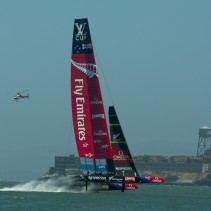 Louis Vuitton – Round Robin 2 – Luna Rossa vs. Emirates Team New Zealand
