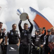 Team New Zealand won the Louis Vuitton cup