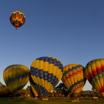 San Francisco Photo Spot series: Chasing Hot Air Balloons over the Napa Valley