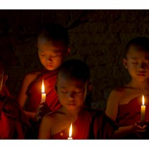 Burma/Myanmar – Bagan monks