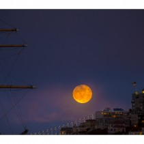 July supermoon in San Francisco