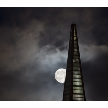August supermoon in San Francisco