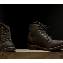 Made in USA: Chippewa engineer boots