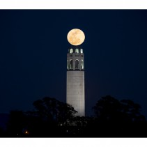 March Full moon: over the Coit Tower