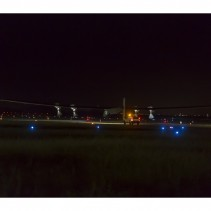 Solar Impulse 2- Takeoff from Moffett Field in Mountain View, CA