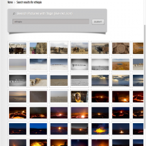 Search any of my images by keywords