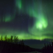 Chasing the aurora (northern lights) in Alaska